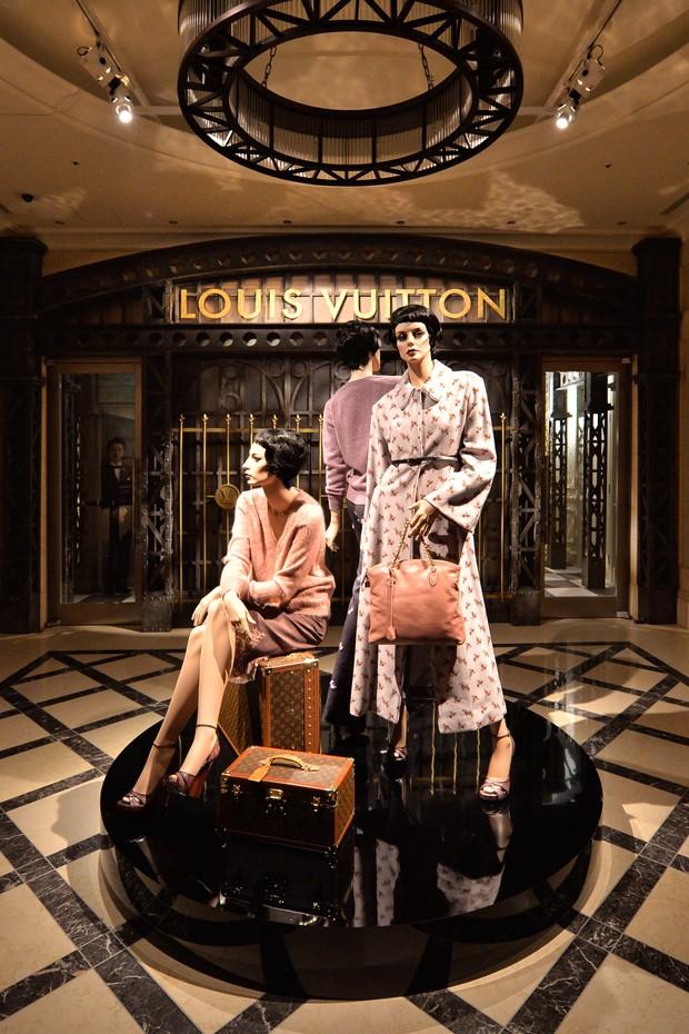 Exposição da Louis Vuitton em Tóquio, no Japão (Foto: AFP)