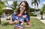 Confira o perfil da musa do  Trindade, Aline Aquino (Evandro Duarte)