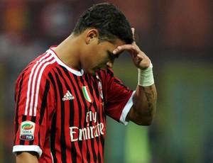 Thiago Silva sai machucado em jogo do Milan contra Roma (Foto: EFE)