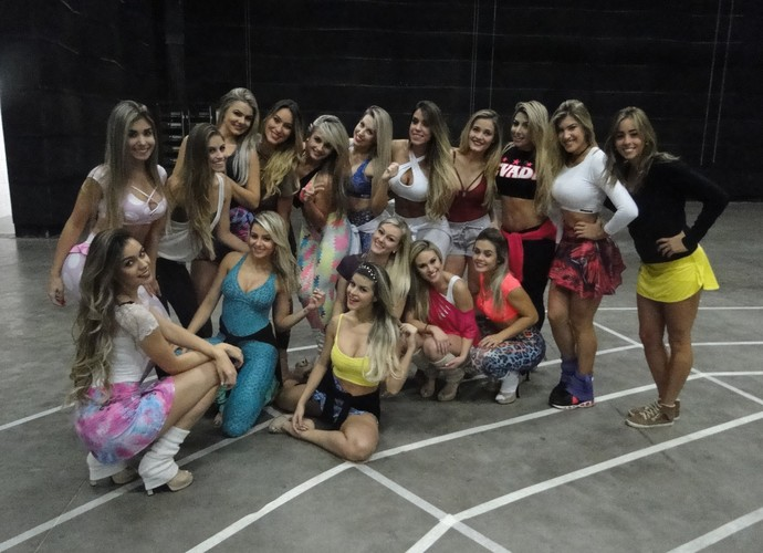 É das loiras que eles gostam mais? (Foto: Vitor Moreno/Gshow)