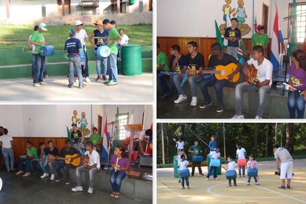 Apoio do Criança Esperança trouxe benefícios para o projeto na cidade de Pequeri, Minas Gerais (Foto: Divulgação | REMER)