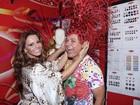 David Brazil e Viviane Araújo viram padrinhos de bloco em Salvador