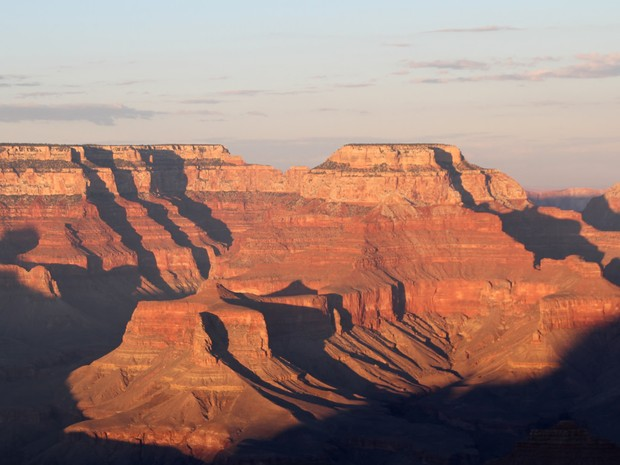 Vista aérea do Grand Canyon, no Arizona (EUA), no fim da tarde (Foto: Tony Hisgett/CC)