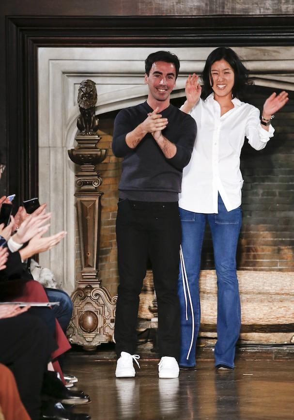 Fernando Garcia e Laura Kim, os novos diretores criativos da Oscar de La Renta (Foto: Getty Images)