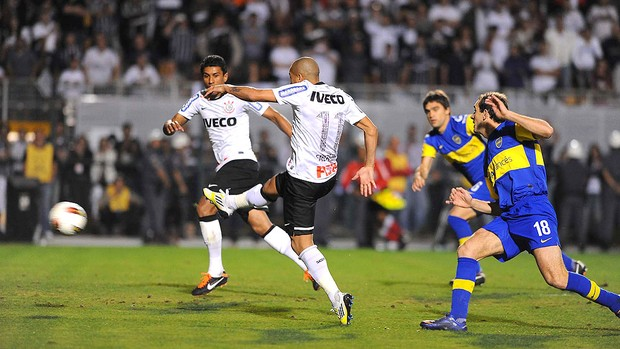 Emerson, Corinthians x Boca Juniors (Foto: Marcos Ribolli  / Globoesporte.com)