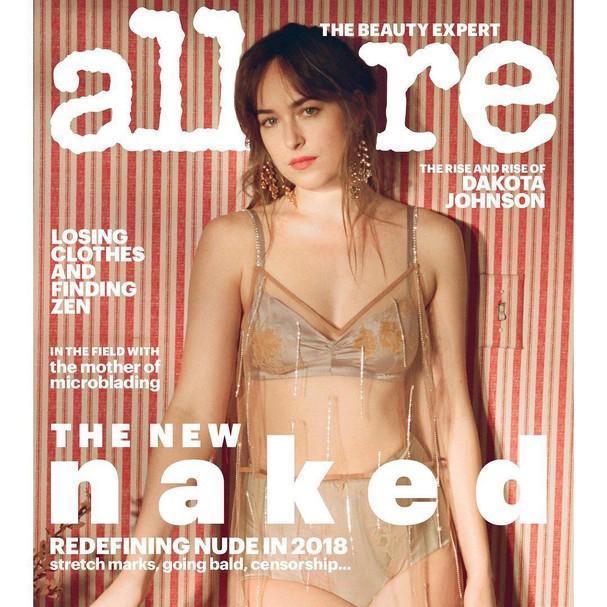 Dakota Johnson na Allure (Foto: Reprodução)