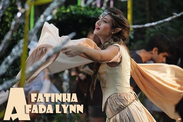 Fatinha, a fada Lynn (Foto: Malhação / TV Globo)