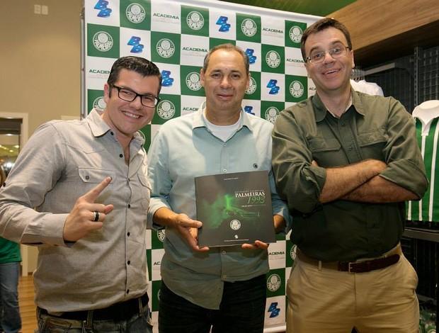 Evair, Galuppo, Mauro Beting (Foto: Divulgação)