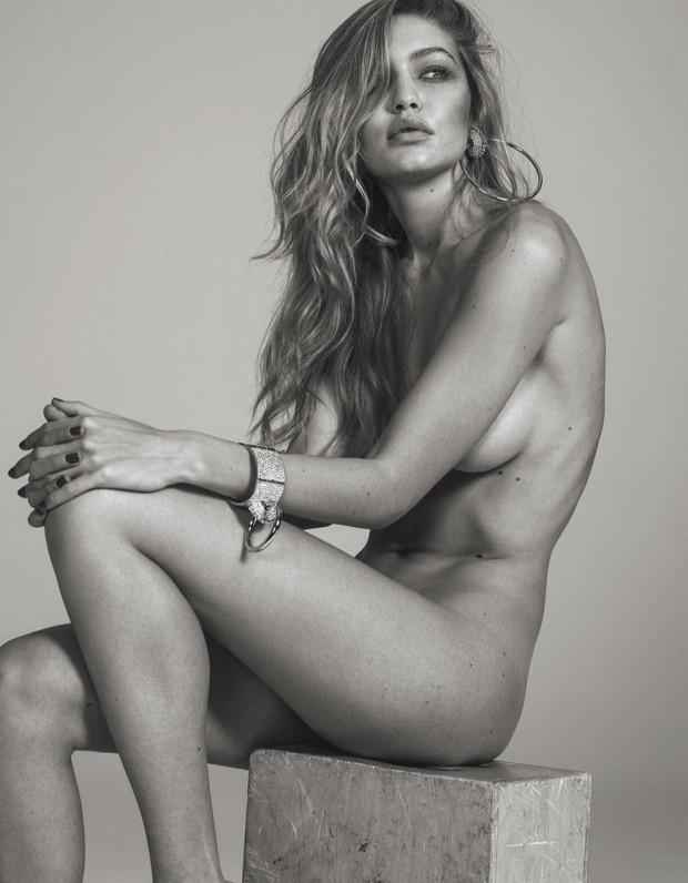 Gigi Hadid posa completamente nua para revista francesa - Quem ... 3e1d502ef6