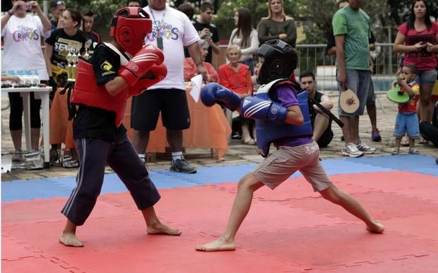 Esporte como forma de inclusão social (Foto: Gabriel Neves/GloboTV)