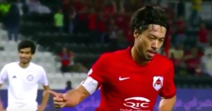 BLOG: Atacante Rodrigo Tabata faz hat-trick na goleada do Al Rayyan sobre o Al Khor