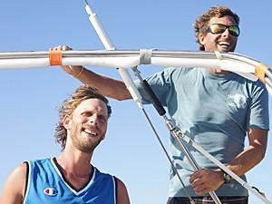 Mol Usk e Julien Dagorn (Foto: Facebook/Reprodução/Florence Renault)