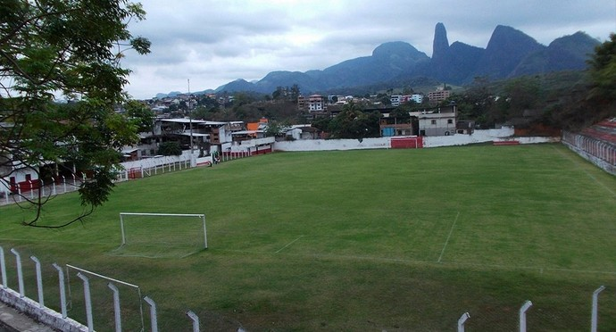 Estádio Moreira Rebello, do Cachoeiro (Foto: Divulgação/Cachoeiro FC)