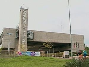 Fachada da Prefeitura de Suzano (Foto: Reprodução/TV Diario)
