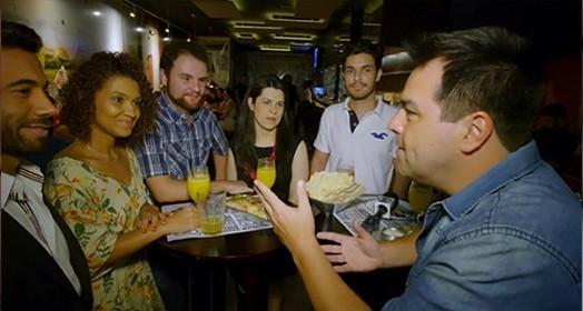 expedição urbana em BH (Reprodução TV)