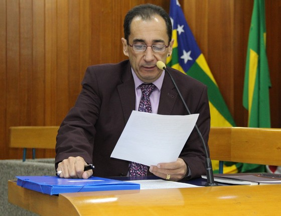 Jorge Kajuru (PRP), vereador de Goiânia (Foto: Eduardo Nogueira/Câmara Municipal de Goiânia)