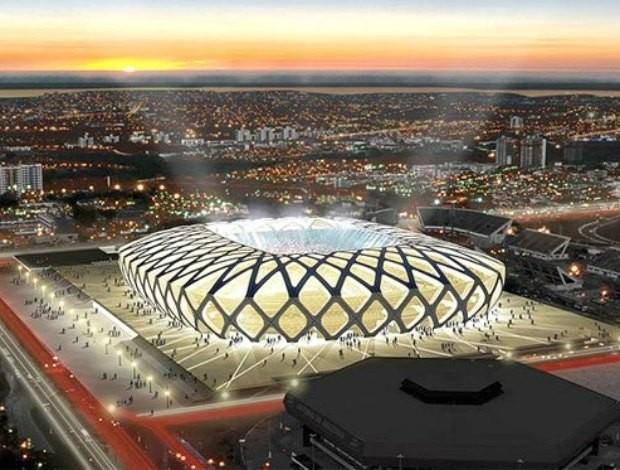 Arena da Amazônia 620 (Foto: Divulgação)