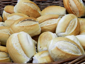 Pão francês ficou 10% mais caro nas padarias neste mês (Foto: Wellington Roberto/G1)
