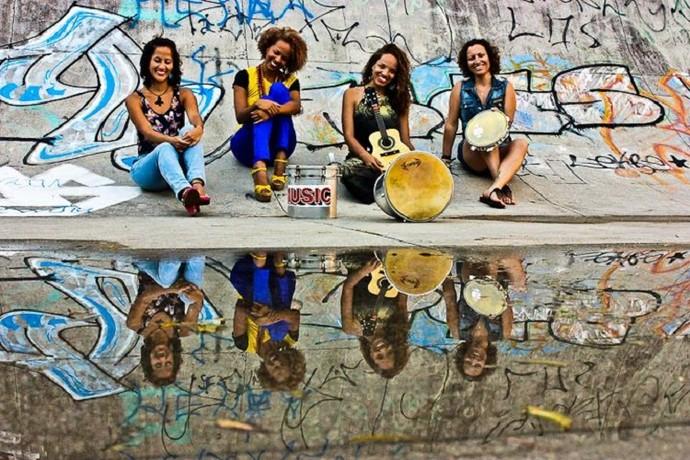 Samba de Moça Só lança videoclipe de 'O corpo é meu' (Foto: Arquivo Pessoal)