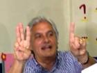 Delcídio vota em Corumbá (Michelle Machado/TV Morena)