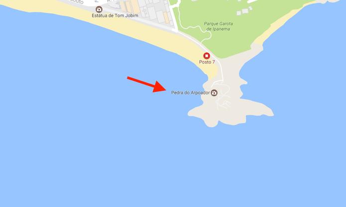 Link para visualizar informações de um local no Google Maps (Foto: Reprodução/Marvin Costa)