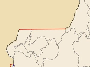 Ibatiba e Iúna perdem território por uma correção de paralelo (Foto: Reprodução/TV Gazeta)