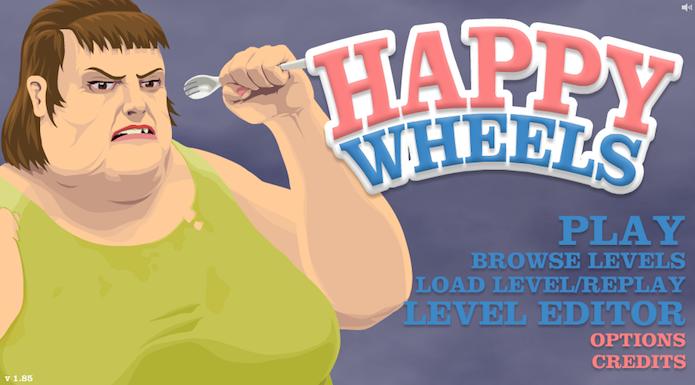 Happy Wheels: veja como criar um mapa no game de corrida (Foto: Reprodução/Murilo Molina)