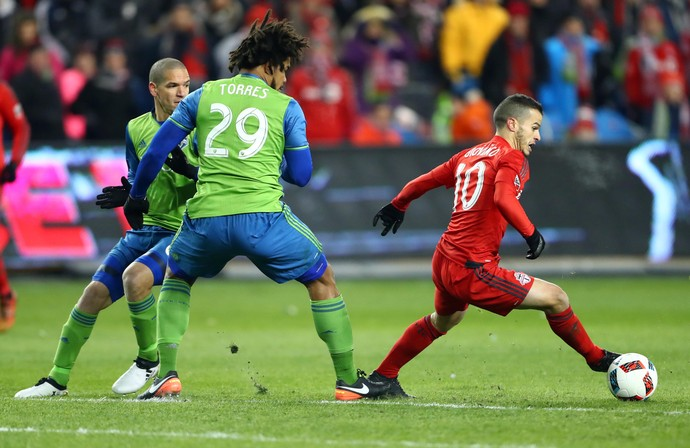 Giovinco Toronto FC x Seattle Sounders MLS Cup 2016 (Foto: Mark J. Rebilas/Reuters)