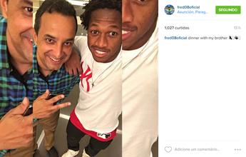 Fred é julgado por doping, mas Conmebol não divulga resultado