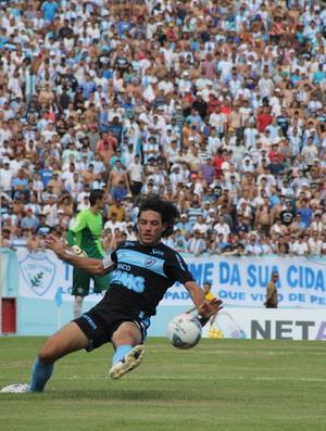 Germano no jogo do Londrina contra o Coritiba (Foto: Fernando Araújo)