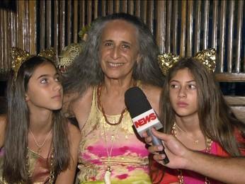 """""""Nunca vou poder esquecer"""", diz Maria Bethânia sobre a vitória da Mangueira (editar título)"""