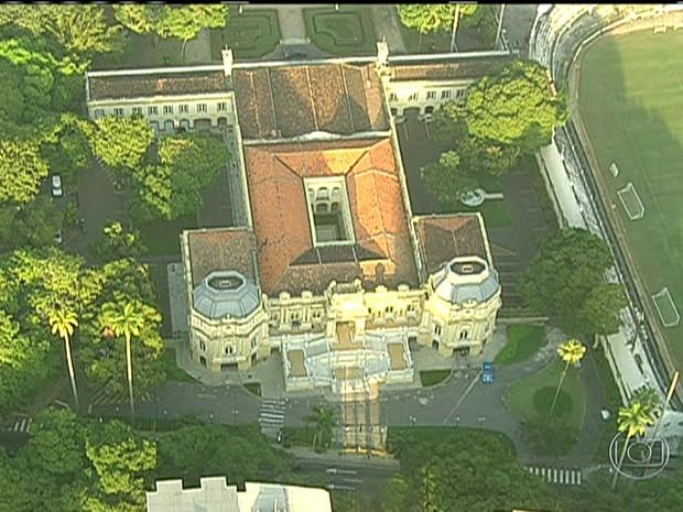 Palácio Guanabara, Rio de Janeiro/GNews (Foto: Reprodução GloboNews)