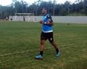 Kim volta aos treinos e pode reforçar  o Joinville na partida diante do Santos