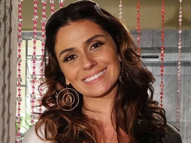 Giovanna Antonelli sobre compulsões de Helo: 'Ela preenche o vazio nas compras' (Foto: Salve Jorge / TV Globo)