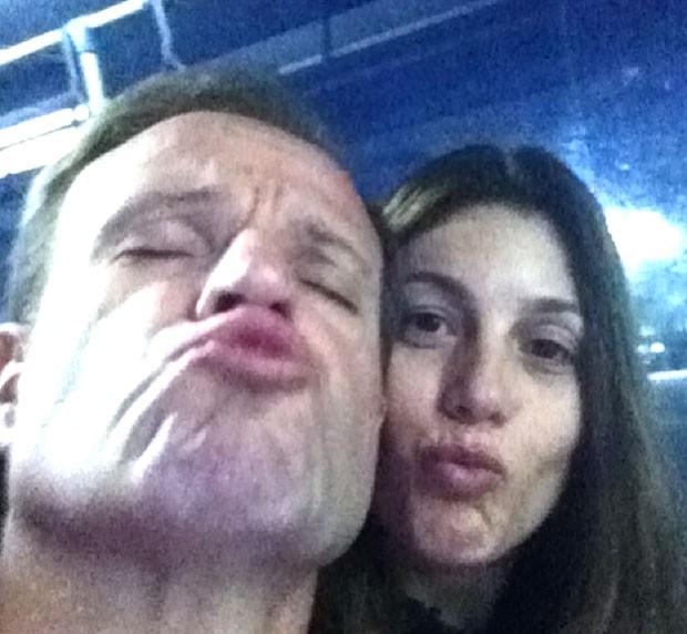 Barrichello e Silvana (Foto: Reprodução/ Instagram)