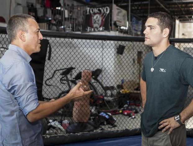 chris weidman esporte espetacular entrevistas (Foto: Divulgação / TV Globo)