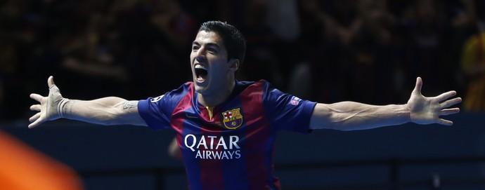 Gol SUárez Barcelona x Juventus (Foto: AP)