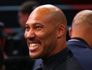 LaVar Ball, pai de Lonzo Ball, no Draft 2017 da NBA (Foto: Getty Images)