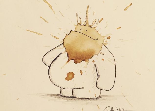 """Conta """"thecoffeemonsters"""" tem quase 500 desenhos (Foto: Reprodução/Instagram)"""