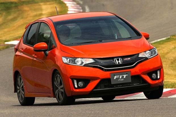 Honda New Fit ganha linhas inspiradas em smartphones (Foto: Divulgação)