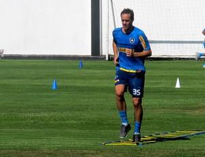 Rodrigo Defendi botafogo treino (Foto: Thales Soares / Globoesporte.com)