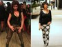 Cláudia Alencar mostra novo visual: cabelos curtos