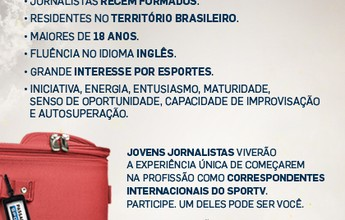 De olho na Rio 2016, SporTV abre inscrições para o Projeto Passaporte