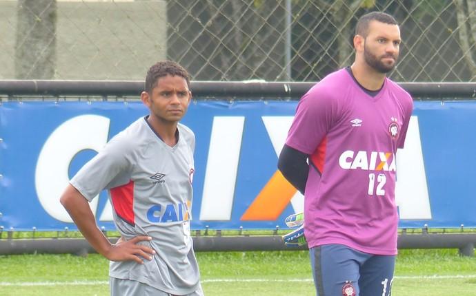 Deivid Weverton Atlético-PR (Foto: Monique Silva)