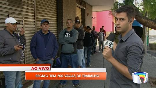 Vale do Paraíba e região tem 201 vagas de emprego disponíveis