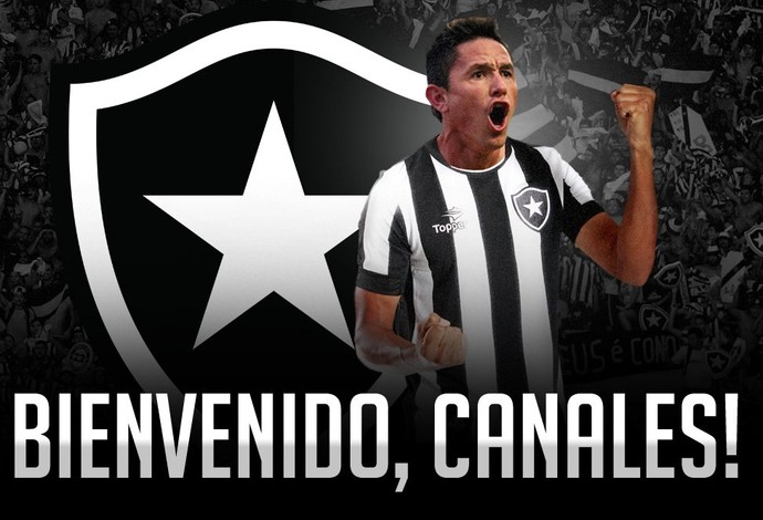 Canales, Botafogo (Foto: Divulgação / Botafogo)