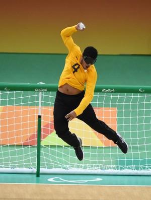 Goalball, Brasil, Suécia, paralimpíada (Foto: André Durão)