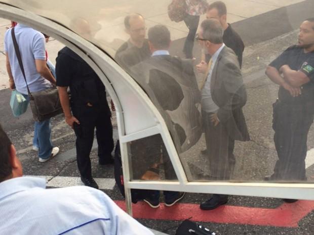 Superintendente do Incra Antônio Carneiro é detido em Imperatriz (Foto: Imirante / Imperatriz)