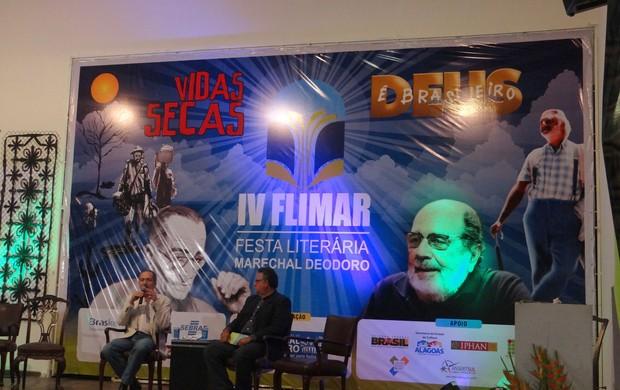 Ministro esporte  Aldo Rebelo Flimar (Foto: Viviane Leão/GLOBOESPORTE.COM)