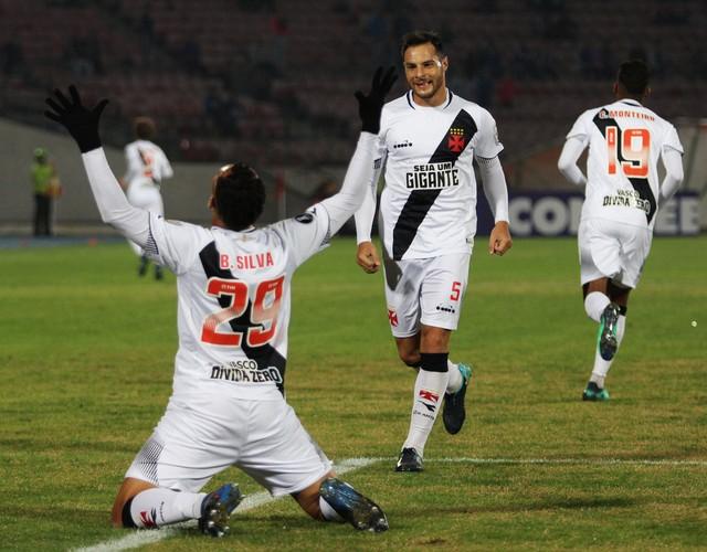 Universidad de Chile x Vasco - Taça Libertadores 2018 - globoesporte.com 43d9e714c5021